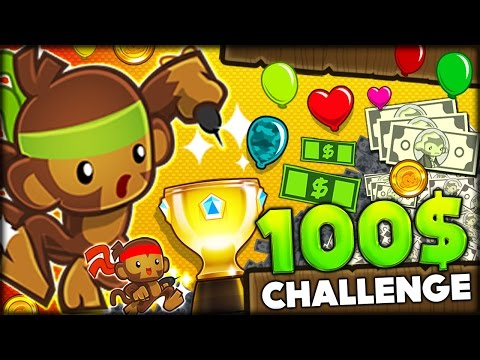 ONLY ONE DAY LEFT FOR THE 100 TRIPLE DART MONKEY CHALLENGE IN BLOONS TD 5 Bloons Tower Defense 5