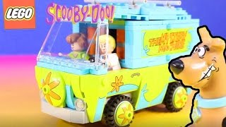 Scooby Doo Lego The Mystery Machine Takes Shaggy And Scooby To The Mummy Museum Mystery