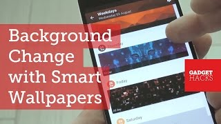 Get a Contextually-Aware Wallpaper for Android [How-To]