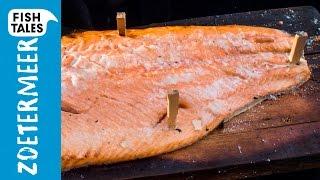Plank Smoked SALMON | How to smoke SALMON? | Bart's Fish Tales