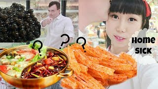 Part 2: My American Fiancé's Shocked at Chinese Supermarket | Huge Asian Grocery Shopping