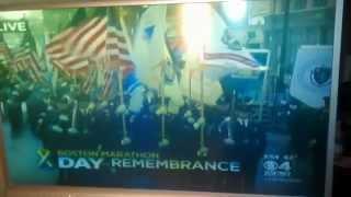 Boston marathon memorial WBZTV guy says