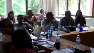 Mr John Riber of MFDI-Tanzania speaks (Michuzi Blog)
