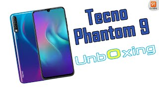 Tecno Phantom 9: Unboxing   Hands-on   Price [Hindi-हिन्दी]