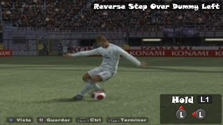 PES 2014 PS2 Tricks & Skills Tutorial HD