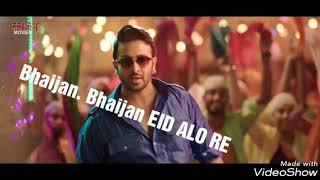 BHAIJAN BHAIJAN EID ALO RE new song 2018  BHAIJAN ALO RE..   shakib khan