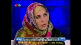 Greek lady convert to Islam. (English subtitles)
