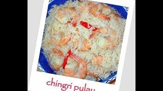 Chingri pulao (Prawn Pulao) recipe (episode 48) by ruptushDiner