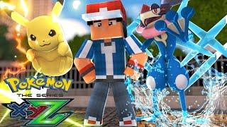 Minecraft: Pokemon X Y Z - ASH-GRENINJA E PIKACHU! #6