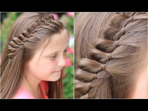 4-Strand French Braid Pinback | Cute Girls Hairstyles