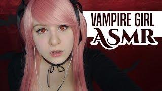 Cosplay ASMR - Vampire Girl Roleplay - Luna's little Sister! - ASMR Neko