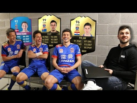 FOOTBALLERS REACT TO THEIR FIFA 17 STATS