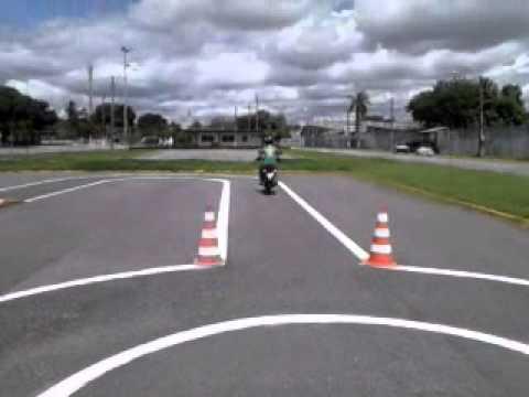 Exame prático de moto Detran Fortaleza