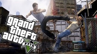 GTA 5 Online   How to win every street fight   Combat tutorial