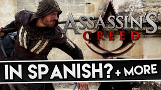 Assassin's Creed: Movie | Historical Sequences in SPANISH? & Crane Animus in Game?? (Discussion)