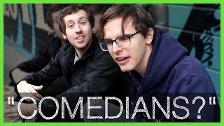 """""""Comedians?"""" on Skateboards Getting Falafel - Radjor"""