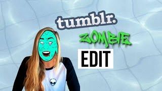 Tumblr Zombie Edit Tutorial | Picsart [For Beginners]