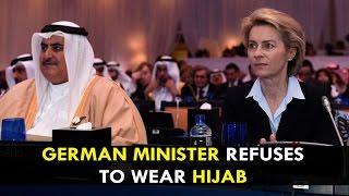 German minister refuses to wear hijab during Saudi Arabia trip