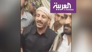 طارق صالح نجل شقيق الرئيس السابق يظهر في شبوة