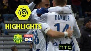 FC Nantes - Olympique Lyonnais (0-6) - Highlights - (FCN - OL) / 2016-17