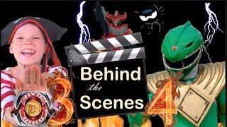 Behind the scenes - Power Rangers Ninja Kidz 3&4