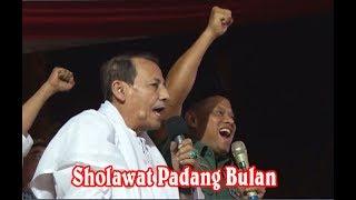 Jendral TNI Gatot Nurmantyo dan Habib Luthfi Sholawat Padang Bulan