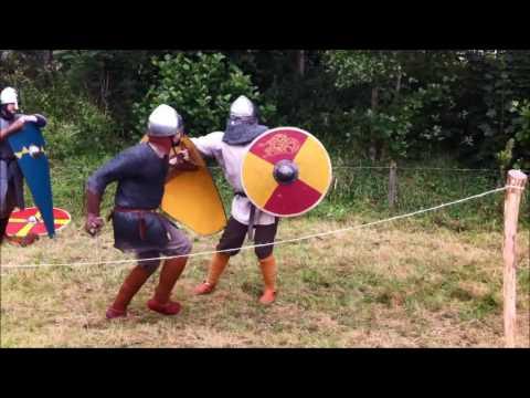 Seax fighting study video for Ottinach