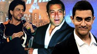 Shahrukh Khan says Salman Khan & Aamir Khan are NOT COMPETITORS