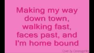 Vanessa Carlton A Thousand Miles cover with Lyrics