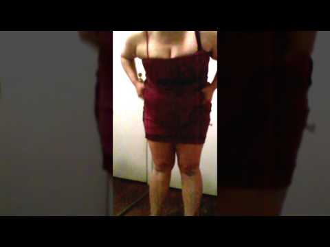 Fatty Girl Too Plump For Dress