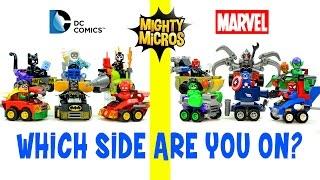 LEGO® Mighty Micros Complete Series 1 DC Comics™ vs Marvel Super Heroes