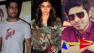 OMG! Alia Bhatt & Sidharth FIGHT over her EX-Boyfriend Ali Dadarkar
