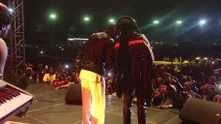 Winky D ft Mtukudzi performing Panorwadza Moyo at Mukanya Bira