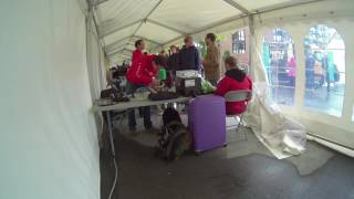 Timelapse from the NorBot tent at Maker Fair Trondheim in August