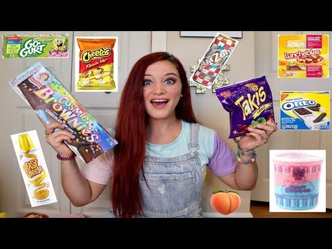 Xxx Mp4 TEACHER TRIES HER STUDENTS FAVORITE SNACKS TAKIS HOT CHEETOS LUNCHABLES MORE 3gp Sex