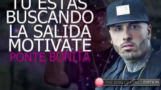 Te Busco - Nicky Jam Ft Cosculluela (Letra) (Video Lyric)