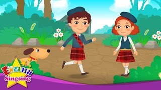 Did You Ever See a Lassie? - Folk song - circle singing game - Kids song with lyrics