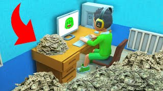How I Made $10,000,000 On YOUTUBE! (Youtubers Life)