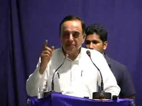Dr Subramanian Swamy powerful speech on India in Crisis How do we save our Nation at Hyderabad