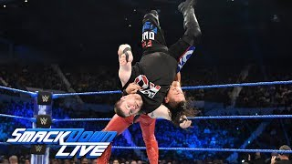 Shinsuke Nakamura and Kevin Owens collide for the first time ever: SmackDown LIVE, June 6, 2017
