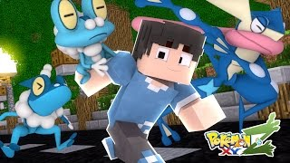 Minecraft : Pokemon XYZ  #01 - KALOS, ONDE AS AVENTURAS COMEÇAM! ‹ Mayck ›