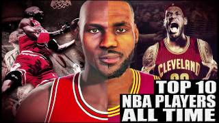 Top 10 NBA Players All Time