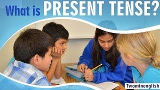 English Grammar Lesson - What is Present Tense - Grammar Tutorials