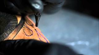 Como se hace un Tatuaje - Slowmotion Tattoo HD
