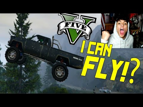 Flying Cars? WTF! GTA 5 ONLINE Funny Moments! #2