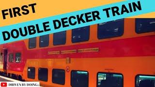 First Double Decker Train - Inner Coach View