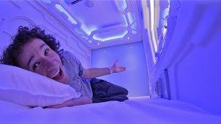 ¿Cómo es dormir adentro de una CÁPSULA DEL FUTURO?