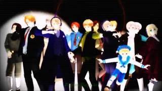【APヘタリア】 Bad Apple Chorus【13 HETALOID, 1K+ SUBS SPECIAL PT.1】