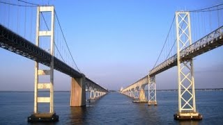 Near death experience: woman survives falling off the Chesapeake Bay Bridge