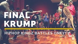 HipHop Kingz 2015 Battles Only | Kid NY vs Illusion Final Krump